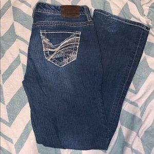 Maurice's 7/8 Short Jeans